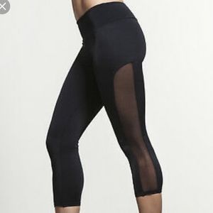 Onzie mesh panel leggings | size s/m